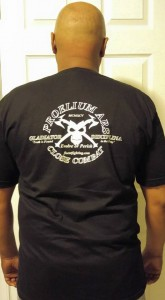 Axes and Skull T Shirt A