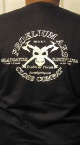 Axes and skull Tshirt B