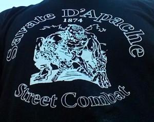 Savat dApache shirt close up